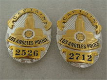 Nieuwe ONS LA Los Angeles Politie Officer Badges LAPD DETECTIVE Shirt Revers Badge Broche Pin Insignia Badge Halloween Cosplay Prop(China)