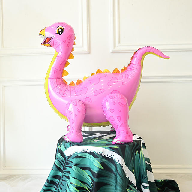4D Walking Dinosaur Foil Balloon
