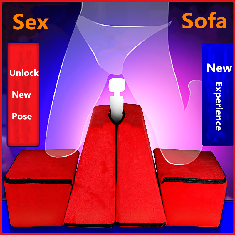 Multifunctional Deformed Body Cushion for Men/Women Sex Furniture Sex Sofa Combination Couples Sex Pillow Orgasm Cushion Sex Toy