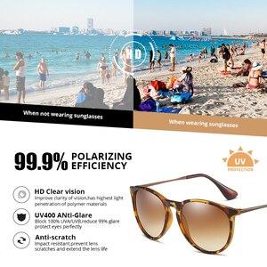 Image 3 - Pro Acme Vintage Cat Eye Polarized Sunglasses Women 2020 Tortoise Brown Retro Round Mirrored Lens gafas de sol mujer PA1266