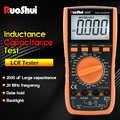 Ruoshui Multimeter 9808 + Hoge Precisie Digitale 2000 Uf Capacimeter 10 Mhz Frequentie Temperatuur En Inductie Meten Met Lcr