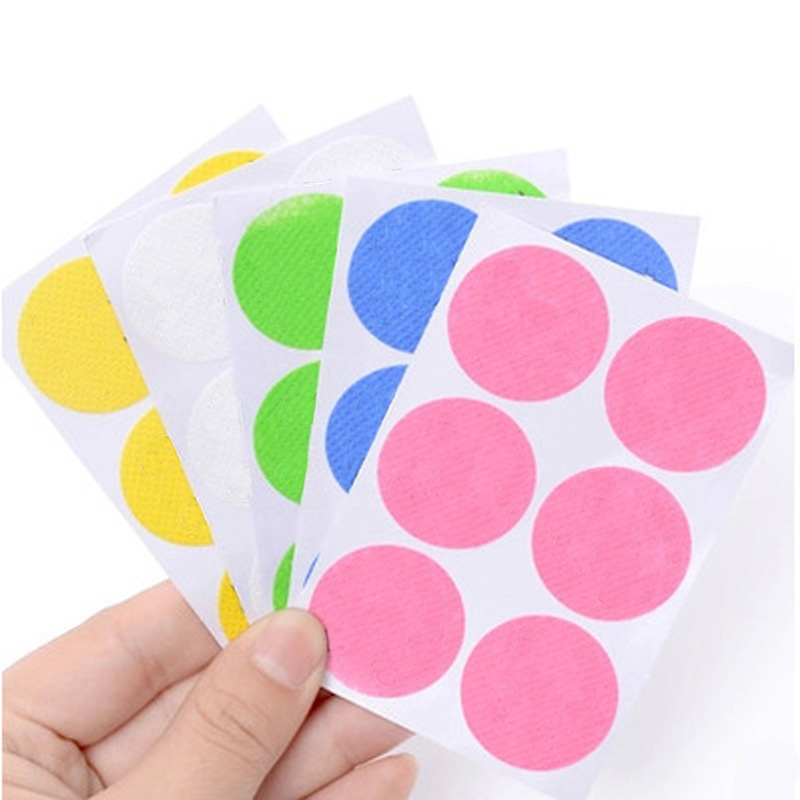 120pcs/60pcs Mosquito Stickers DIY Mosquito Repellent Stickers Patches Cartoon Smiling Face Drive Repeller 2