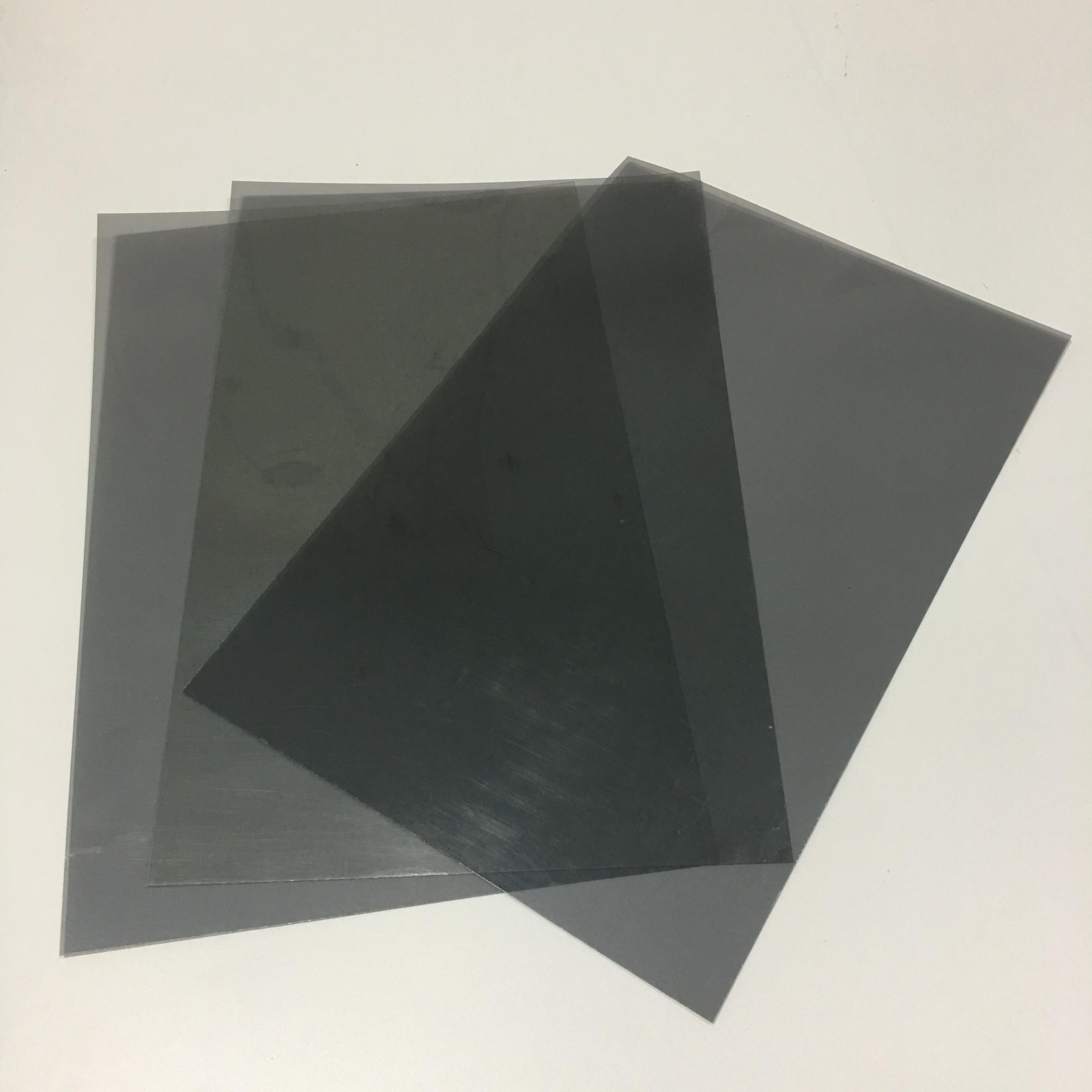 1 filme horizontal do polarizador de 30*20 cm dos pces 0 graus para o lcd, filtro polarizado linear, folhas lineares do filme da polarização