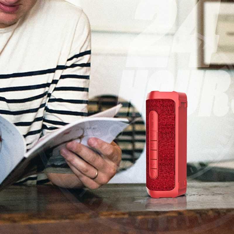 Portable Kain Tahan Air Bluetooth Speaker Subwoofer Luar Ruangan Kecil Baja Diafragma Kecil Suara