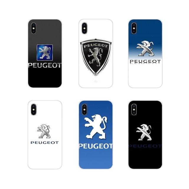 Аксессуары, чехлы для телефонов Xiaomi Redmi 4A S2 Note 3 3S 4 4X 5 Plus 6 7 6A Pro Pocophone F1, Логотип Peugeot
