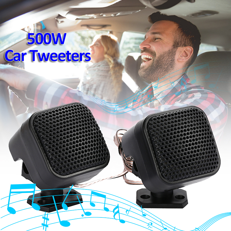 90 Degree Adjustable Stand 12V 500W <font><b>Car</b></font> Tweeters <font><b>Audio</b></font> <font><b>Speaker</b></font> Loudspeaker CD MP3 Super Power Universal Auto <font><b>Speakers</b></font> For IPod image