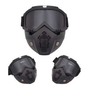 Image 2 - Outdoor Cycling Airsoft Mask Full Face Helmet Paintball Mask Airsoft Safety Protective Anti fog Goggle Protective Tactical Mask