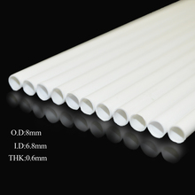 Teraysun Dia 8mm ABS plastic round tube pipe model making scenery architectural constructions models