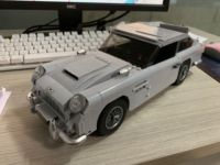 In stock 21046 1450Pcs Creator Aston Martin DB5 James Bond 007 Car Set Building Blocks Bricks Kids toys Christmas Gift 10262