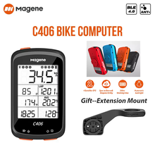 Magene-C406 smart mountain bike computer, waterproof, GPS, wireless, with data APP for cycling, bicycle equipment