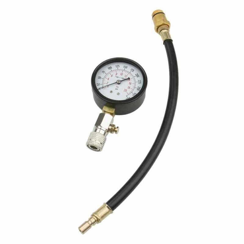 Motor basınç göstergesi silindir sıkıştırma ölçer Test cihazı Test esnek hortum