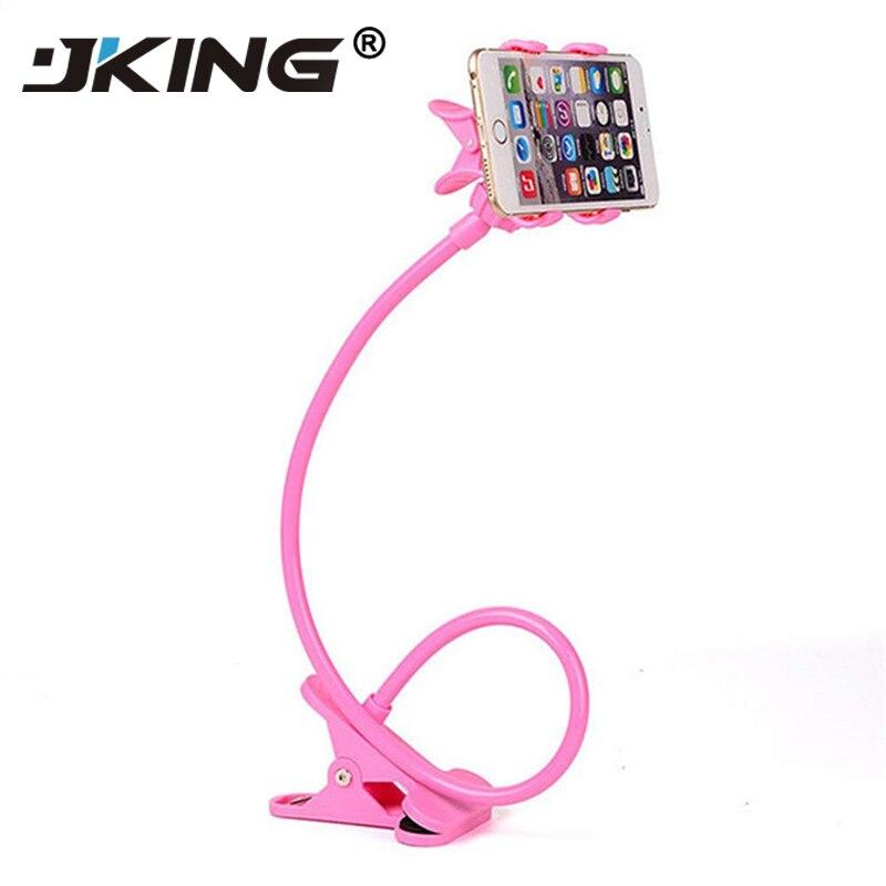 Women Men Lazy Bracket Flexible 360 Clip Mobile Cell Phone Holder Lazy Bed Desktop Bracket Mount Stand Bedroom Gym Office