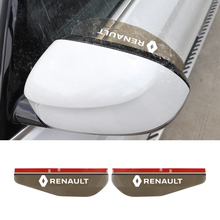 Rainproof-Cover Kadjar Duster Eyebrow-Shade Car-Rearview-Mirror Scenic Renault 2PCS