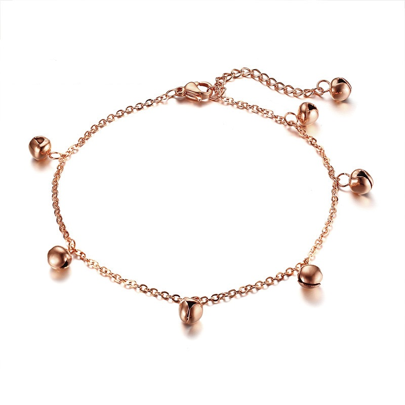 Simple Anklets For Women Rose Gold Anklets Jewelry Summer Beach Sexy Foot Leg Bracelets Anklets For Girls