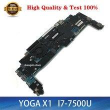 Marke NEUE 16822-1 LRV2 MB 448.0A913.0011 Mainboard Für Lenovo ThinkPad Yoga X1 Laptop Motherboard i7-7500 16GB RAM 01YR149