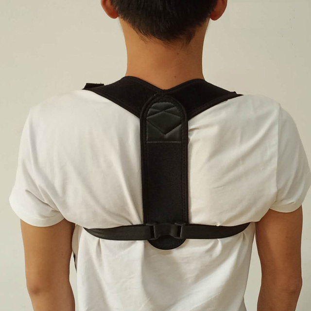Back Posture Corrector Posture Shoulder Back Holder Support Corrector Back Straight Shoulders Brace Health Care Protective Bands