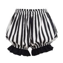 Lolita Pumphose Frauen Vintage Cosplay Bodenbildung Kürbis Shorts