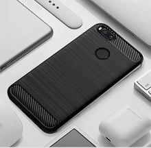 Silicone Case For Xiaomi Mi A2 Case Cover for Mi A2 Lite Case Soft Carbon Fiber Phone Case On for Xiaomi Mi A 2 lite Redmi 6 Pro