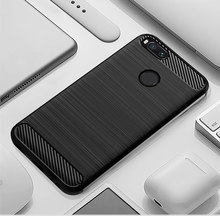 סיליקון מקרה עבור Xiaomi Mi A2 מקרה כיסוי עבור Mi A2 לייט מקרה רך פחמן סיבי טלפון מקרה על עבור xiaomi Mi 2 לייט Redmi 6 פרו