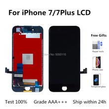 ЖК дисплей aaa + для iphone 7 сменный сенсорный экран plus без