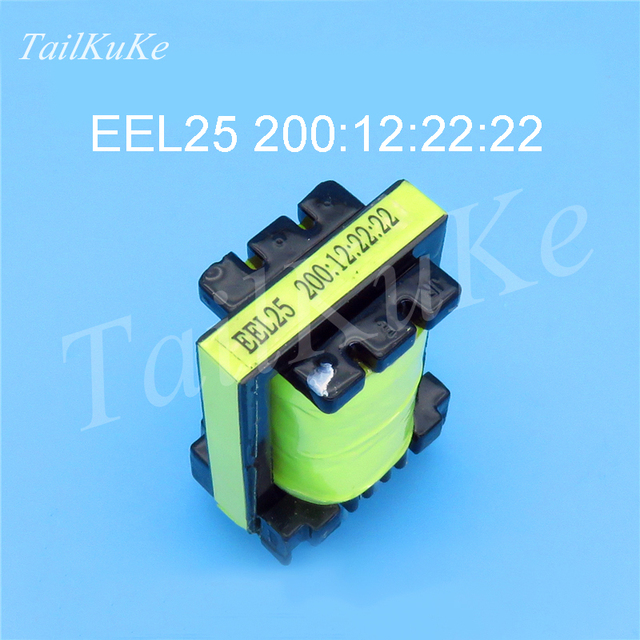 5pcs Saldatore Trasformatore EEL25 200:12:22:22 Trasformatore Ad Alta Frequenza di Potenza di Commutazione di Alimentazione del Trasformatore per Saldatore