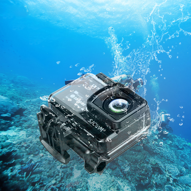 SJCAM 4K Action Camera SJ8 Pro/SJ8 Plus/SJ8 Air 1296P 4K 30fps/60fps HD Remote Control Helmet Waterproof Camera FPV Sports DV