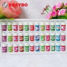 Абсолютно новые Водорастворимые эфирные масла для ароматерапии масло увлажнителя воздуха с 12 видами аромата 36 набор бутылок