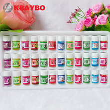 Brand New Water soluble Oil Essential Oils for Aromatherapy Oil Humidifier Oil with 12 Kinds of Fragrance 36 Bottle Set