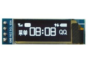 """Image 1 - 0.91 inch 128x32 I2C IIC Serial Blue OLED LCD Display Module 0.91"""" 12832 SSD1306 LCD Screen for Arduino Backlight"""