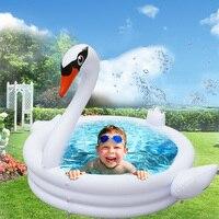 Inflatable flamingo Baby Swimming Pool Portable Outdoor swimming pool swan Children Basin Bathtub kid pool bath swimming pool