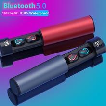 Hbq fones de ouvido bluetooth fone de ouvido para jogos mini smartphone esportes à prova d água fones de ouvido tws 5.0 fones de ouvido sem fio com microfone duplo q67