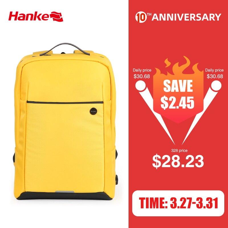 Mixi 2020 New Design Backpack Men Women School Bag 15.6 Laptop Backpack With USB Port Waterproof Breathable Black Yellow M5718