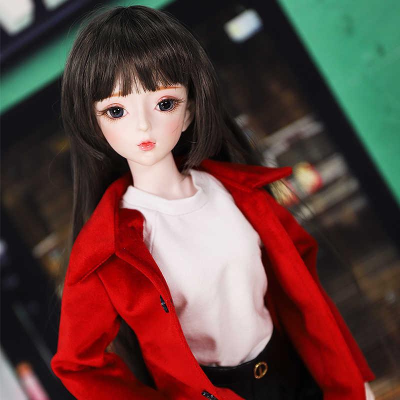 Dbs boneca 1/3 bjd sonho fada cidade bebê série mecânica corpo comum com maquiagem 62cm altura meninas sd