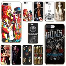 Dünne Silikon Weichen TPU Telefon Fall Für Nokia X6 2 3 5 6 8 9 230 3310 2,1 3,1 5,1 7 Plus 2017 2018 Guns'N Rosen Axl Rose fan club(China)