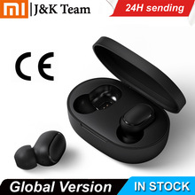 Original Xiaomi Redmi Airdots TWS Headphones Xiaomi Wireless earphone Voice control Bluetooth 5.0 Noise reduction Tap Control