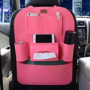 Image 4 - Car Rear Seat Storage  Box Multi pocket Storage Bag for Cadillac XTS SRX ATS CTS/Renault Koleos Fluenec Latitude