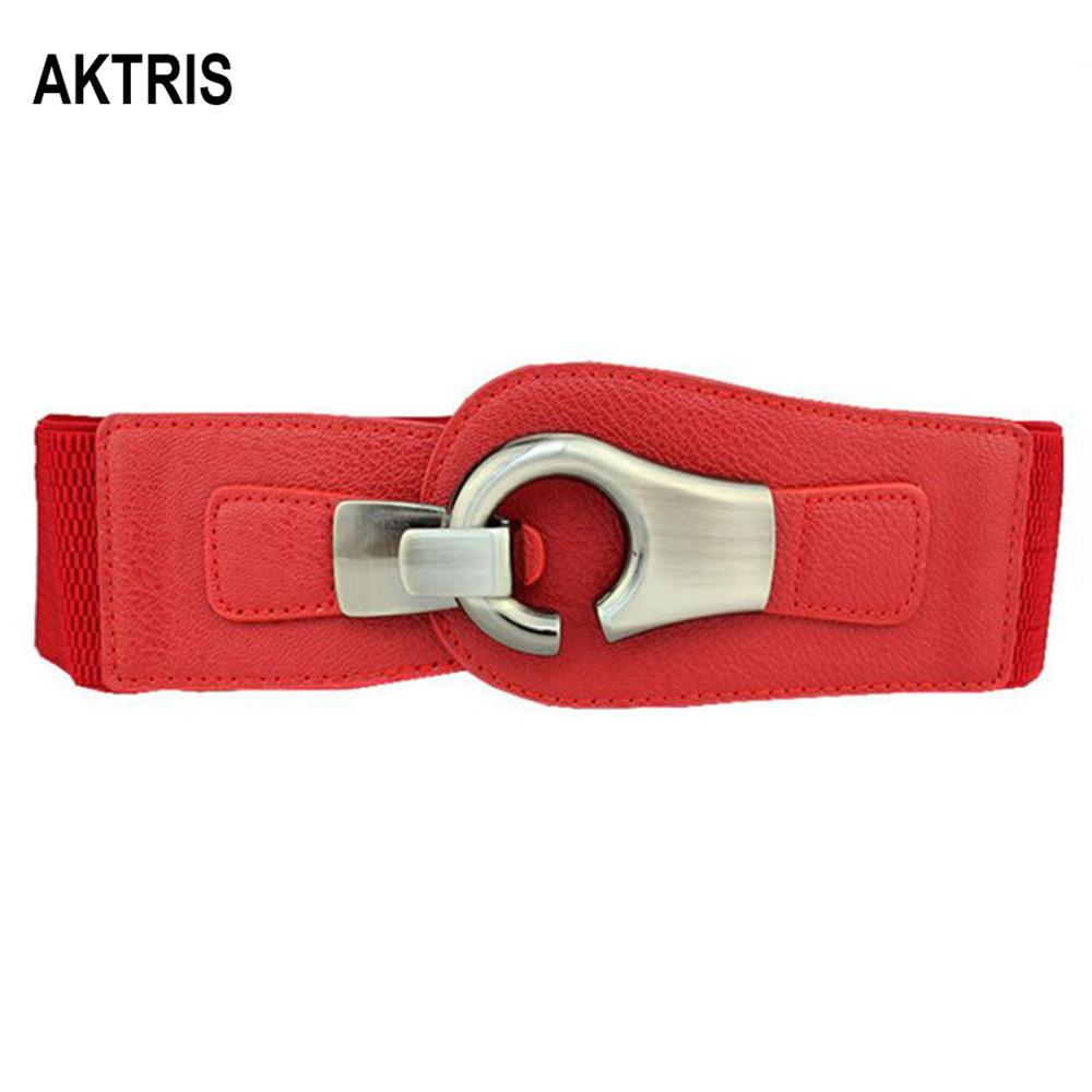 AKTRIS Lady Palace Retro Wide Waistband Belts Overcoat Decorative Women's Simple Design Cummerbunds For Women Accessories FCO220