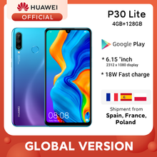 In stock Global Version Huawei P30 Lite 4GB 128GB Smartphone 6.15 inch Kirin 710 Octa Core Mobile Phone Android 9.0 CellPhone(China)