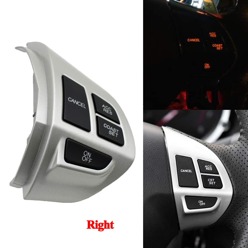 Steering Wheel Switch Audio Radio Control right for Mitsubishi Lancer EX 10 Lancer X Outlander ASX Colt Pajero Sport|Car Switches & Relays|   - AliExpress