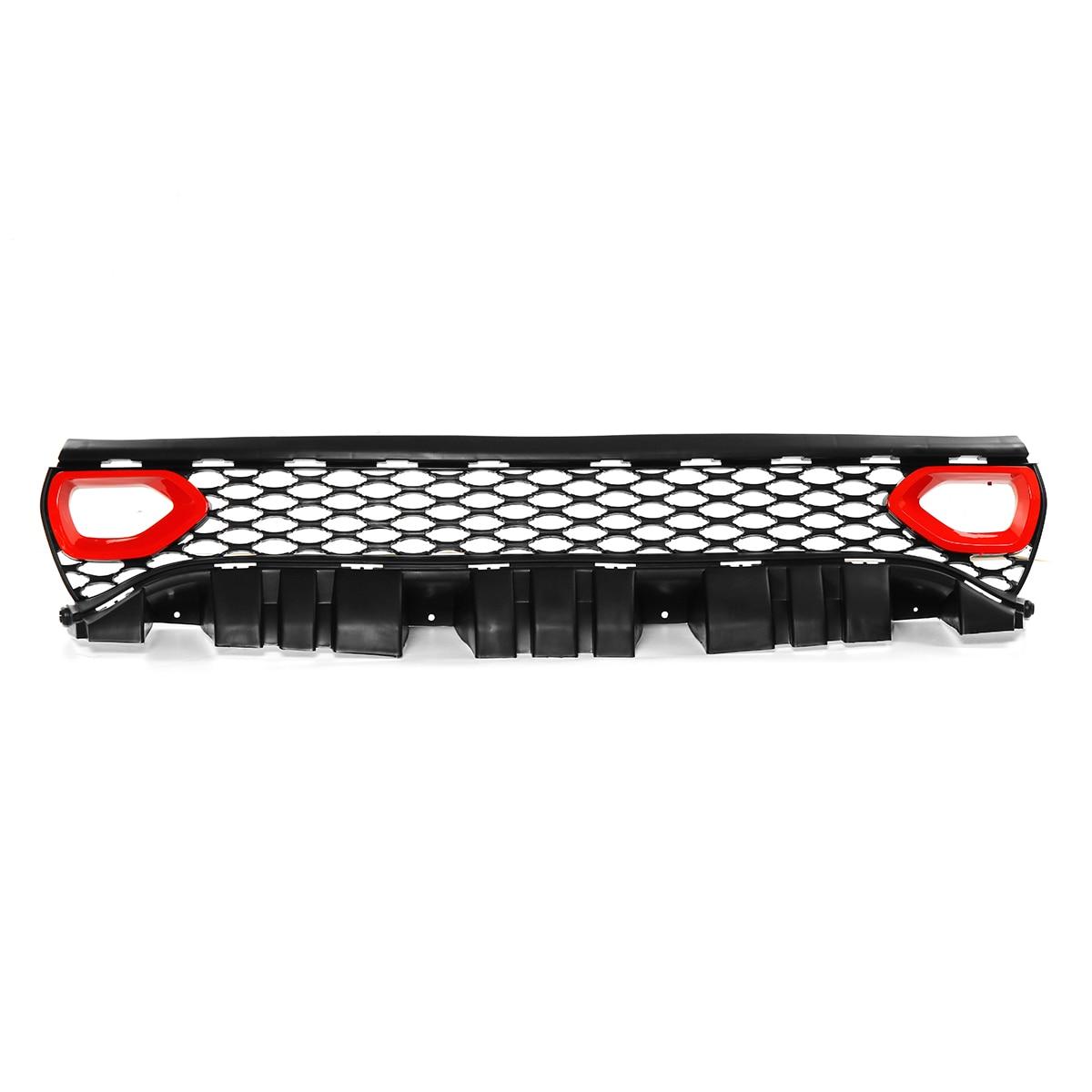 Упаковка стиль SRT/Scat гриль автомобильный передний бампер сетка решетка верхний гриль решетка для Dodge для зарядного устройства SRT/Scat 2015 2019 - 3