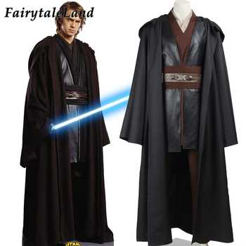 Star Wars Costume Adult Cosplay Anakin Skywalker Outfit Halloween Carnival party costume Jedi Anakin Costume Custom Made - DISCOUNT ITEM  15% OFF All Category
