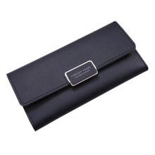 Wallet Female PU Leather Leisure Purse 3Fold Top Quality Wom