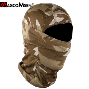 Image 4 - MAGCOMSEN Tactical Camouflage Balaclava Full Face Cover Quick Dry Hunt Shoot Army Bike Helmet Military Equipment  Airsoft Gears