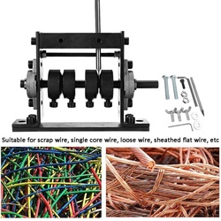 1-30mm Wire Stripping Machine Scrap Cable Peeling Machine cabel Strip Machines Wire Stripper Machine Wiring Harness