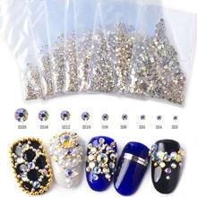 1 упаковка ab Кристаллы Стразы для ногтей сверкающий лак камни
