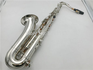 Image 1 - BULUKE Sassofono Bb Tenor Saxophone Nichel Placcato Perfetto Saxofone Trasporto Libero Con Il Caso Boccaglio Guanti