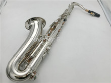 BULUKE  Saxophone   Bb Tenor  saxophone Nickel Plated Perfect Saxofone Free Shipping  With Case Mouthpiece Gloves