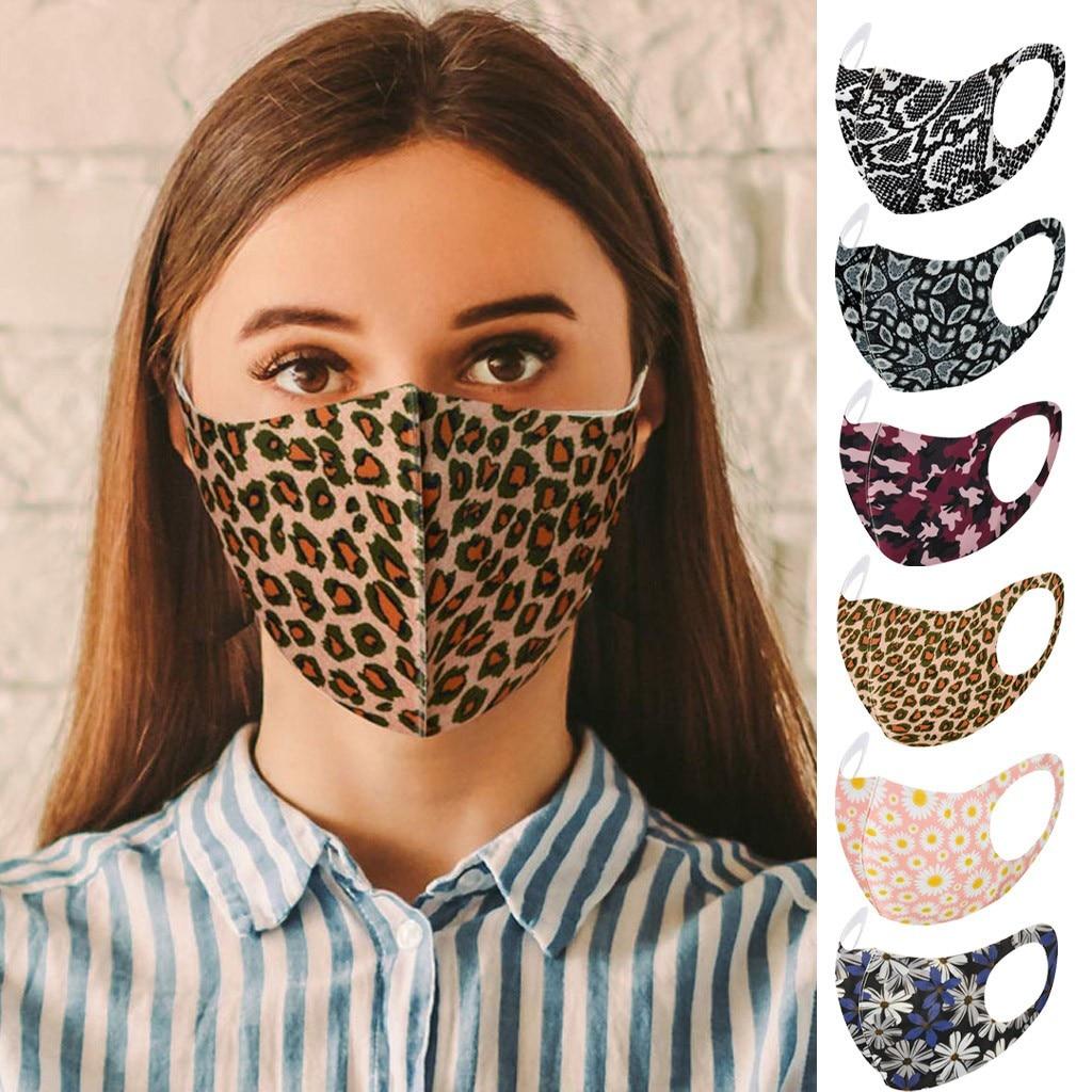 Цветная Тканевая маска для лица для взрослых фильтр Pm2.5 наружные пылезащитные маски унисекс Моющиеся Многоразовые маски Zmywalna Maska