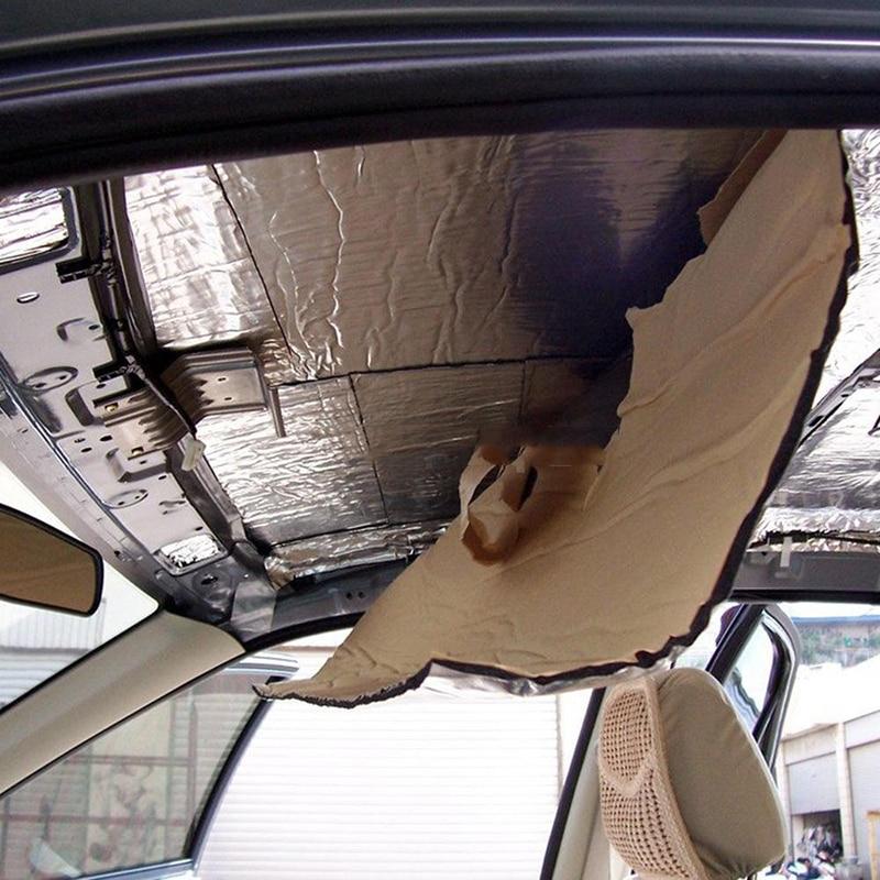 New Car Heat Shield Isolation Sound Heat Deadener Mat 50*200cm Self Sticking