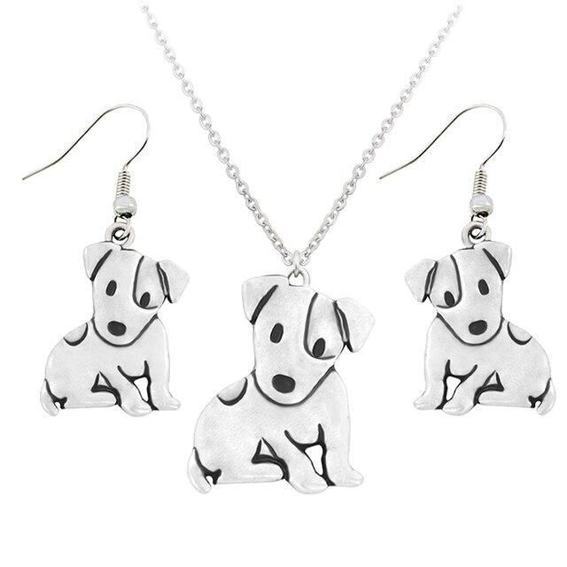 Dog Pendant Necklaces Set 1